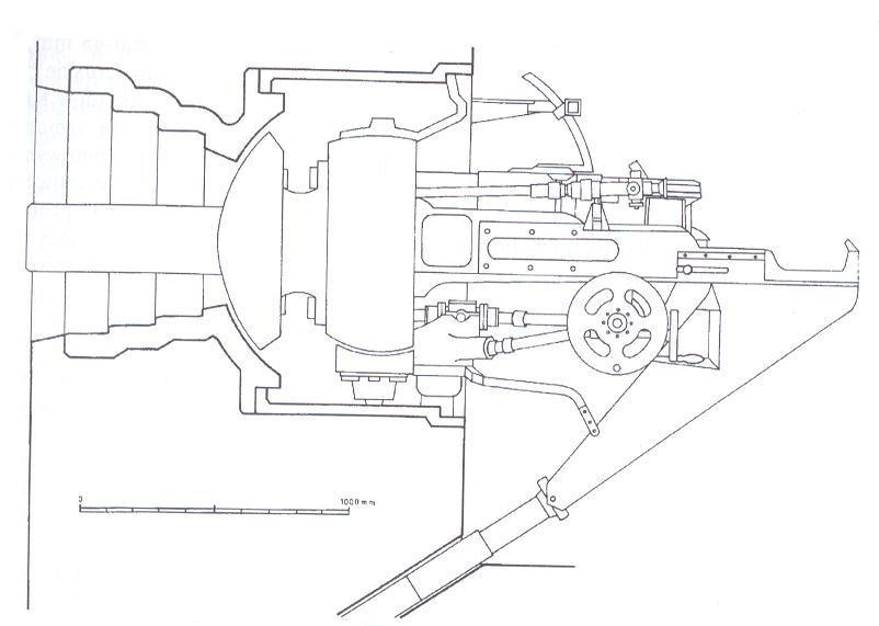 Stanowisko Ł-17 - rysunek z prywantnych zbiorów autora
