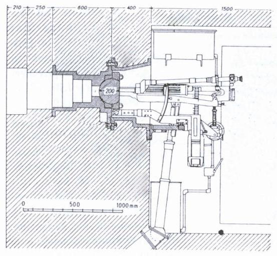 Stanowisko NPS-3- rysunek z prywatnych zbiorów autora